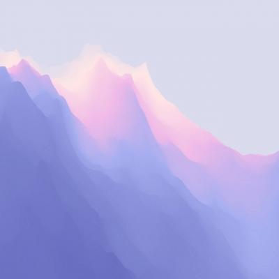 عکس زمینه کوه صورتی بنفش دخترانه