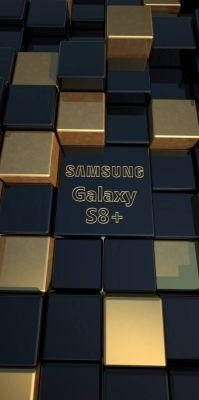 عکس زمینه سامسونگ گلکسی S8 گلد