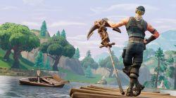 عکس زمینه بازی Fortnite دریاچه