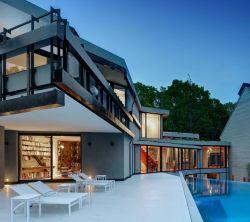 عکس زمینه خانه لوکس مدرن