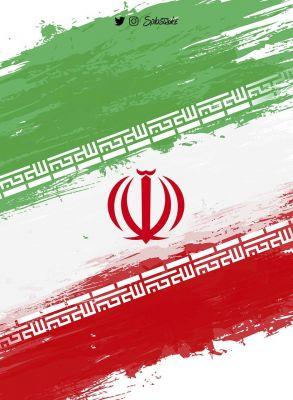 عکس زمینه طراحی پرچم ایران