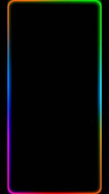 عکس زمینه لبه رنگارنگ