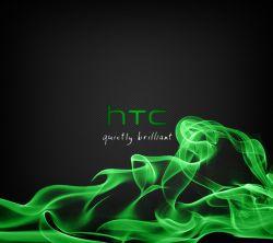 عکس زمینه HTC دود سبز