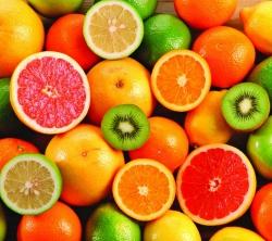 عکس زمینه میوه های خوش رنگ زیبا