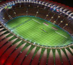 عکس زمینه استادیوم فوتبال