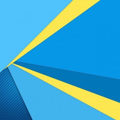 عکس زمینه بلک بری Priv آبی زرد