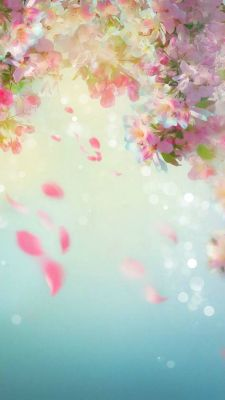 عکس زمینه شکوفه های بهاری