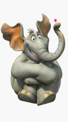 عکس زمینه انیمیشن فیل خنده دار