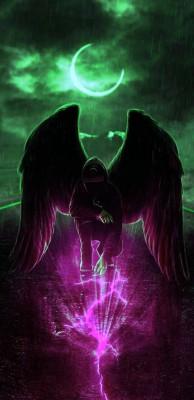 عکس زمینه فرشته تاریکی
