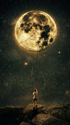 عکس زمینه شب مهتاب