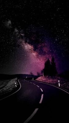 عکس زمینه جاده تا ابدیت