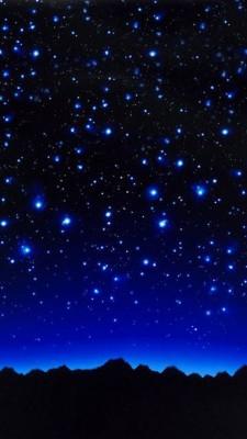 عکس زمینه شب پر ستاره زیبا