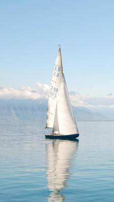 عکس زمینه قایق بادبانی