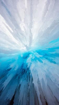عکس زمینه زنگوله یخی