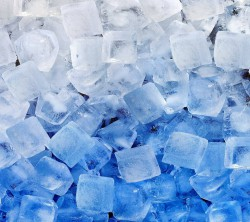 عکس زمینه یخ سفید آبی خنک