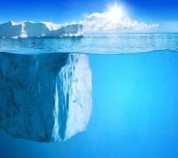 عکس زمینه کوه یخ اقیانوس