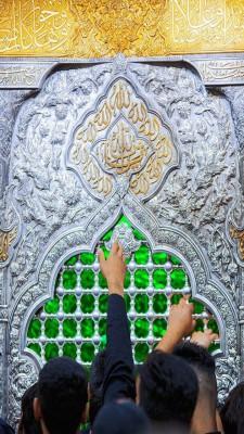 عکس زمینه حرم امام حسین
