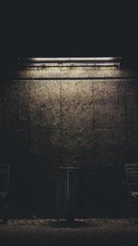 عکس زمینه نور روی دیوار شب تاریک