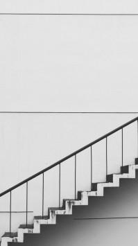 عکس زمینه پله سفید و سیاه هنری