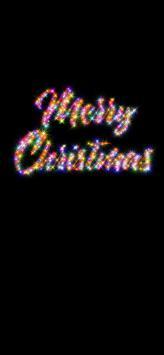 عکس زمینه تبریک کریسمس دخترانه