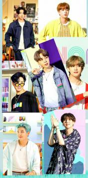 عکس زمینه اعضا گروه BTS