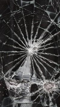 عکس زمینه صفحه شکسته LCD موبایل