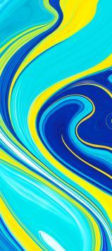عکس زمینه اصلی شیائومی ردمی نوت 9 زرد آبی