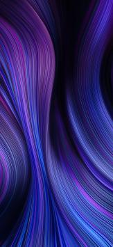عکس زمینه اصلی شیائومی ردمی نوت 9 بنفش آبی تیره زیبا