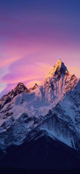 عکس زمینه اصلی شیائومی ردمی نوت 9 قله های برفی