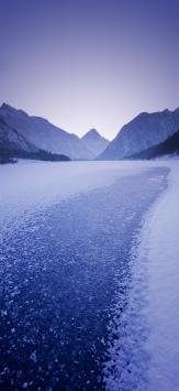 عکس زمینه اصلی شیائومی ردمی نوت 9 مسیر یخبندان