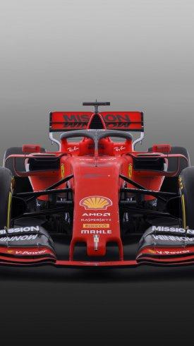 عکس زمینه ماشین مسابقه قرمز فراری