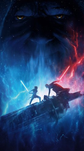 عکس زمینه نمایی از فیلم جنگ ستارگان