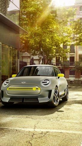عکس زمینه خودرو کانسپب مینی ماینر الکتریکی جدید