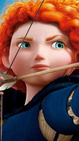 عکس زمینه انیمیشن پرنسس مریدا شاهزاده خانم شجاع