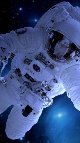 عکس زمینه فضانورد سفینه فضایی ناسا