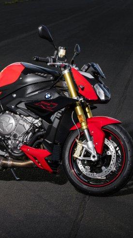 عکس زمینه موتور بی ام دبلیو قرمز رنگ BMW S1000