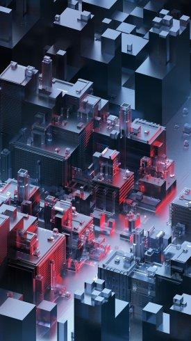 عکس زمینه معماری ساختمان های مدرن و شیک