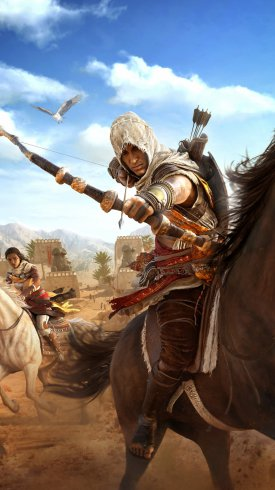 عکس زمینه بازی کامپیوتری Assassins Creed : Origins