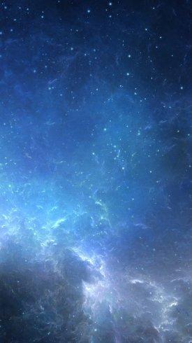 عکس زمینه ستاره ها و کهکشان راه شیری