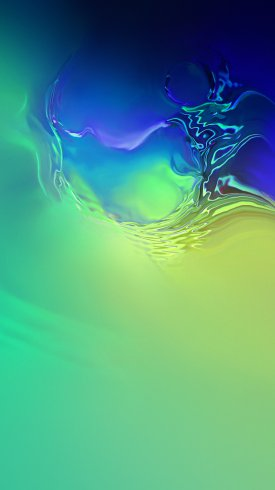 عکس زمینه گرادیان سبز و آبی