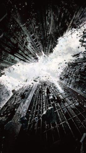 عکس زمینه نمایی از فیلم شوالیه تاریکی