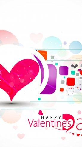 عکس زمینه قلب های تبریک روز ولنتاین