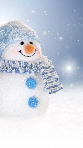 عکس زمینه آدم برفی و جشن های زمستانی