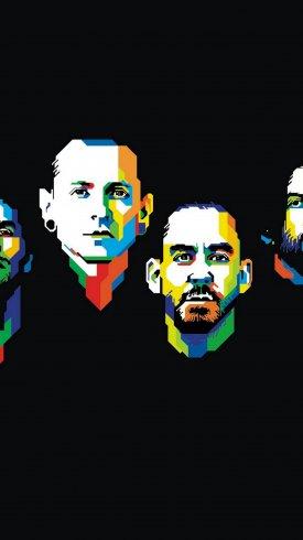عکس زمینه گروه موسیقی راک آمریکایی لینکین پارک