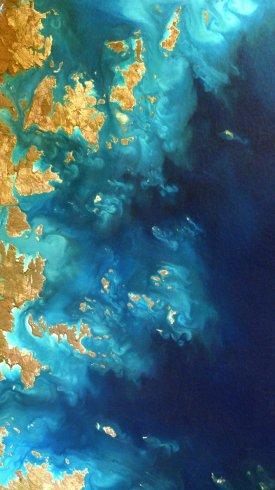 عکس زمینه پارک ملی پرنس رجنت اقیانوس هند استرالیا 4K