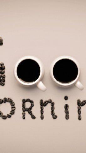 عکس زمینه سبک زندگی با دو لیوان قهوه