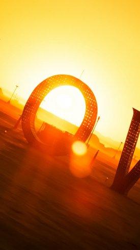 عکس زمینه عشق در غروب آفتاب