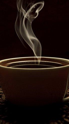 عکس زمینه سبک زندگی و دانه های قهوه دودی